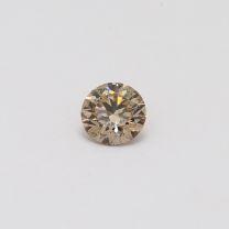 0.40 Carat Round Cut Champagne Diamond