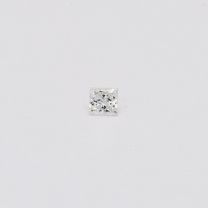 0.07 Carat Princess Cut White Diamond