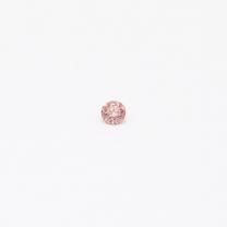 0.035 Carat Round Cut 5P/PR Argyle Pink Diamond