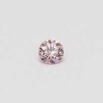 0.26 Carat round cut 7P certified Argyle pink diamond