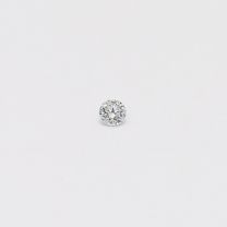 0.025 Carat round cut BL1 Argyle blue diamond