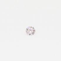 0.065 Carat round cut light pink Argyle pink diamond