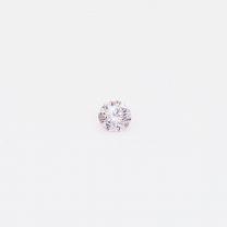 0.055 Carat round cut fancy light pink Argyle pink diamond