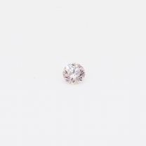 0.065 Carat Round Cut 6PR Argyle Pink Diamond