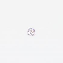 0.035 carat round cut 7-8P/PP Argyle pink diamond