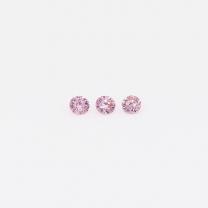 0.045 Total carat parcel of Argyle pink diamonds
