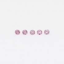 0.05 Total carat parcel of Argyle pink diamonds
