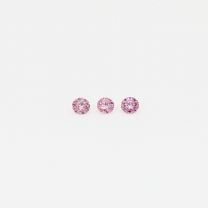 0.03 Total carat parcel of Argyle pink diamonds