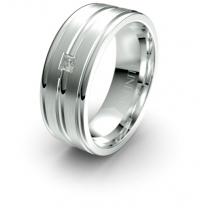 Lustre Infinity Ring