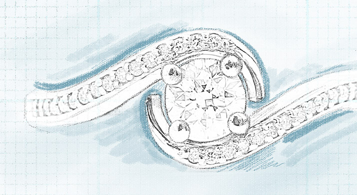 Design your own diamond ring with Nina's