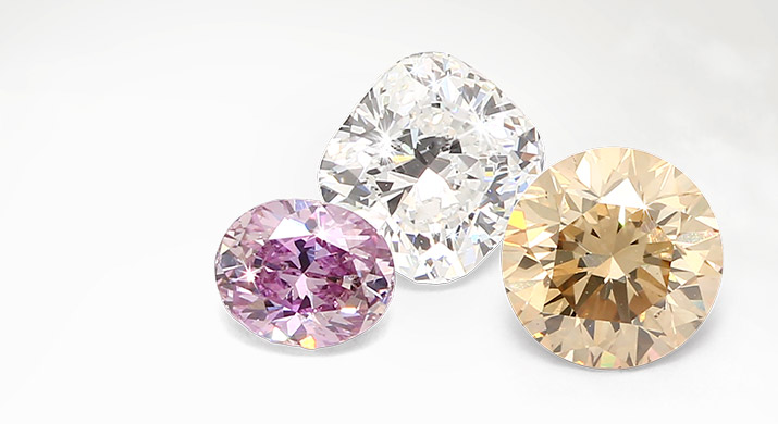 White diamonds or coloured diamonds – which is right for me?