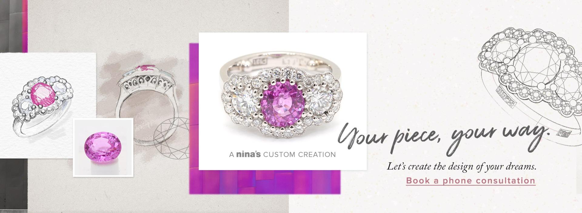 Design your own jewellery with Australian diamonds