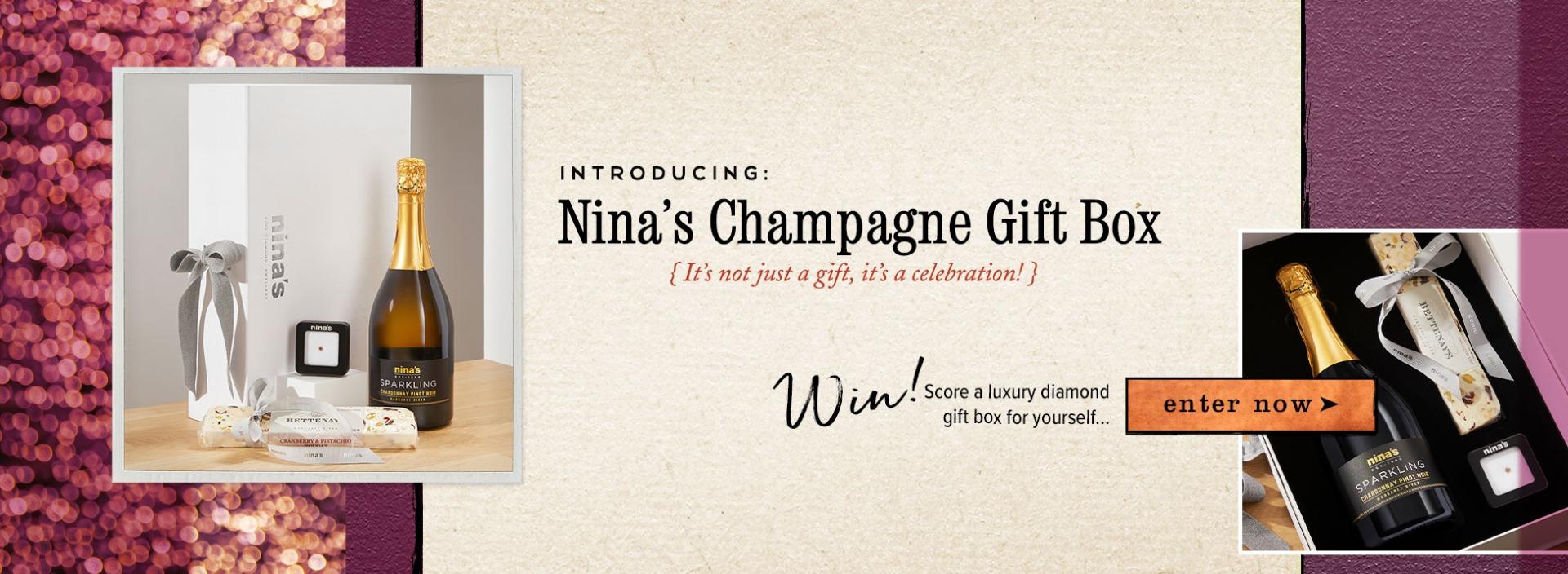 Win a Nina's Champagne Gift Box