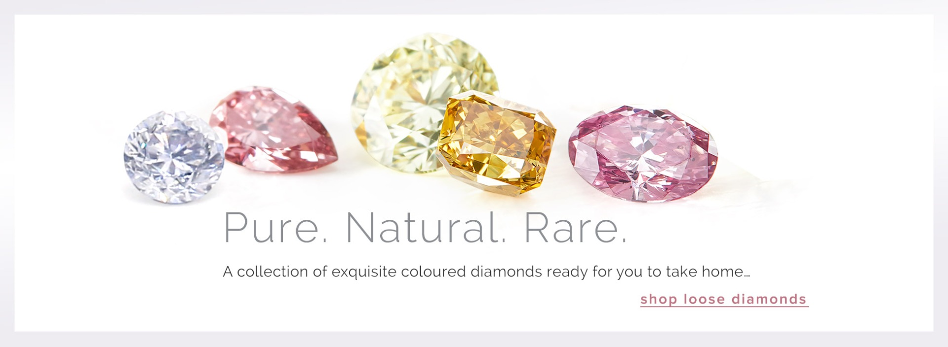 Natural loose diamonds from the coloured diamond specialists
