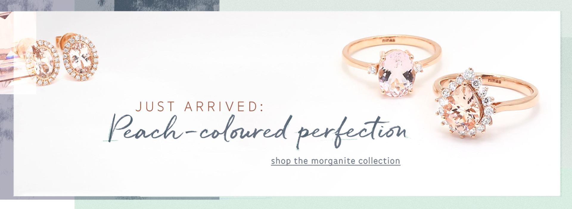 Morganite Jewellery - Peach coloured perfection