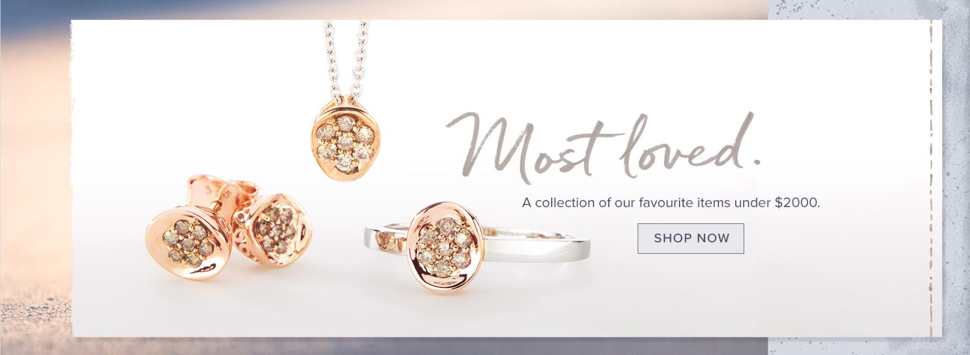 Nina's Most Loved - Diamond jewellery under $2000