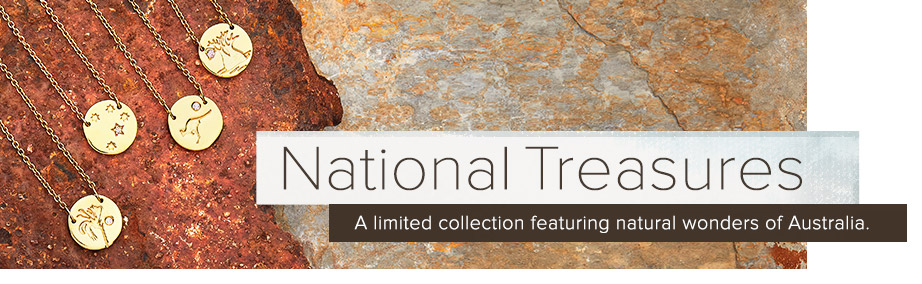 National Treasures necklaces | Nina's Jewellery