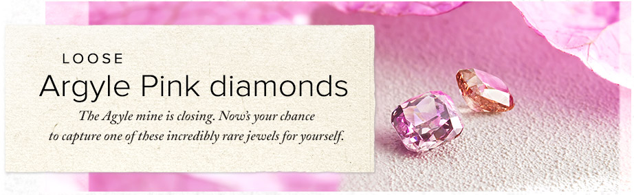 Argyle Pink diamonds | Loose pink diamonds online