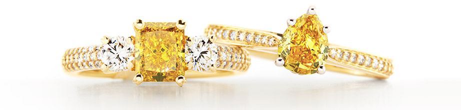 Yellow diamond jewellery | Nina's Jewellery