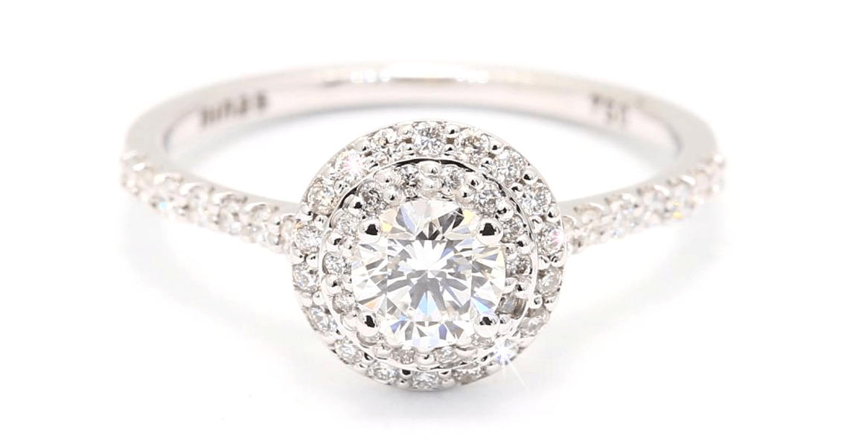 Halo diamond rings | Engagement ring trends | Nina's Jewellery