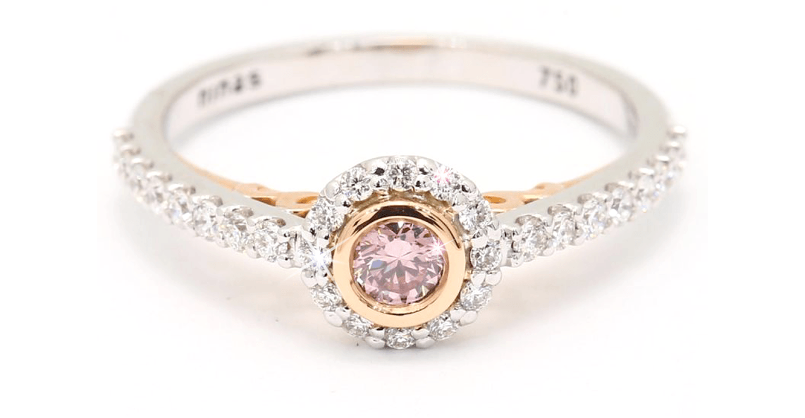 Coloured diamond engagement rings | Engagement ring trends | Nina's Jewellery