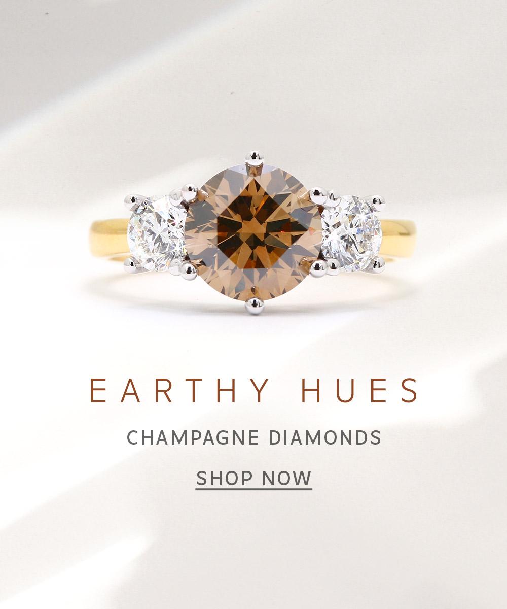 Earthy hues - Champagne Diamonds