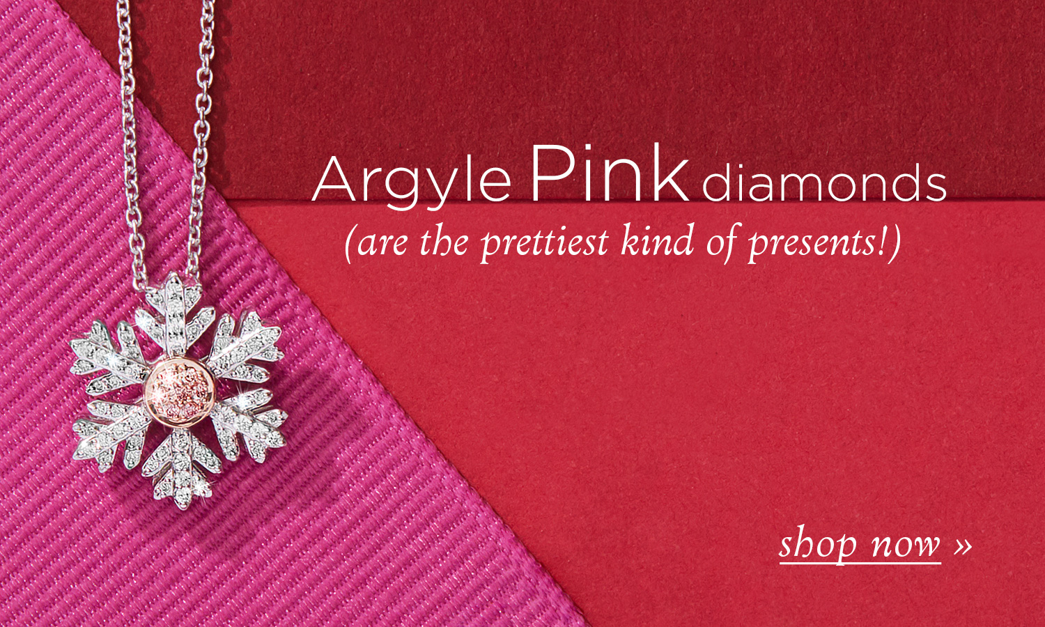 Argyle pink diamond jewellery - shop online now from Australia's coloured diamond specialists
