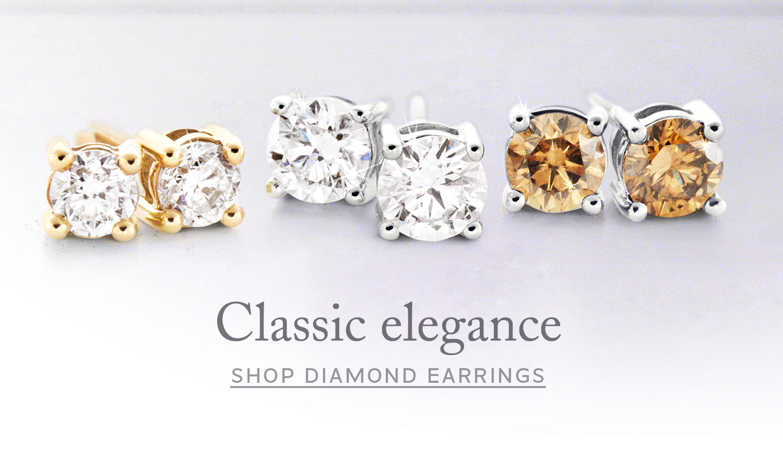 Ninas Diamond Earrings - Stud Earrings made with natural diamonds online
