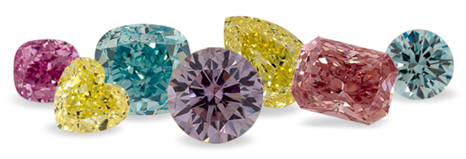 The journey of coloured diamond formation