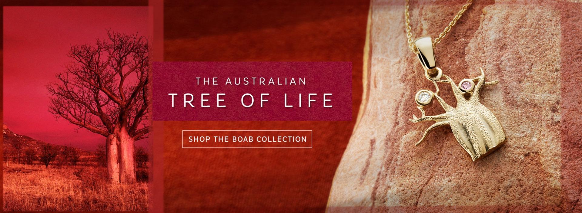 Boab tree jewellery | Nina's Jewellery