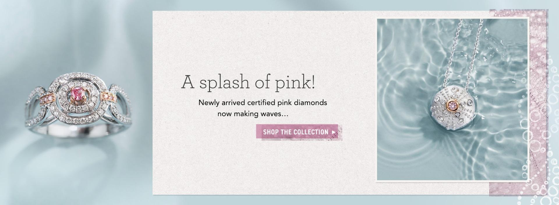 New Pink Diamond Rings | Nina's Jewellery