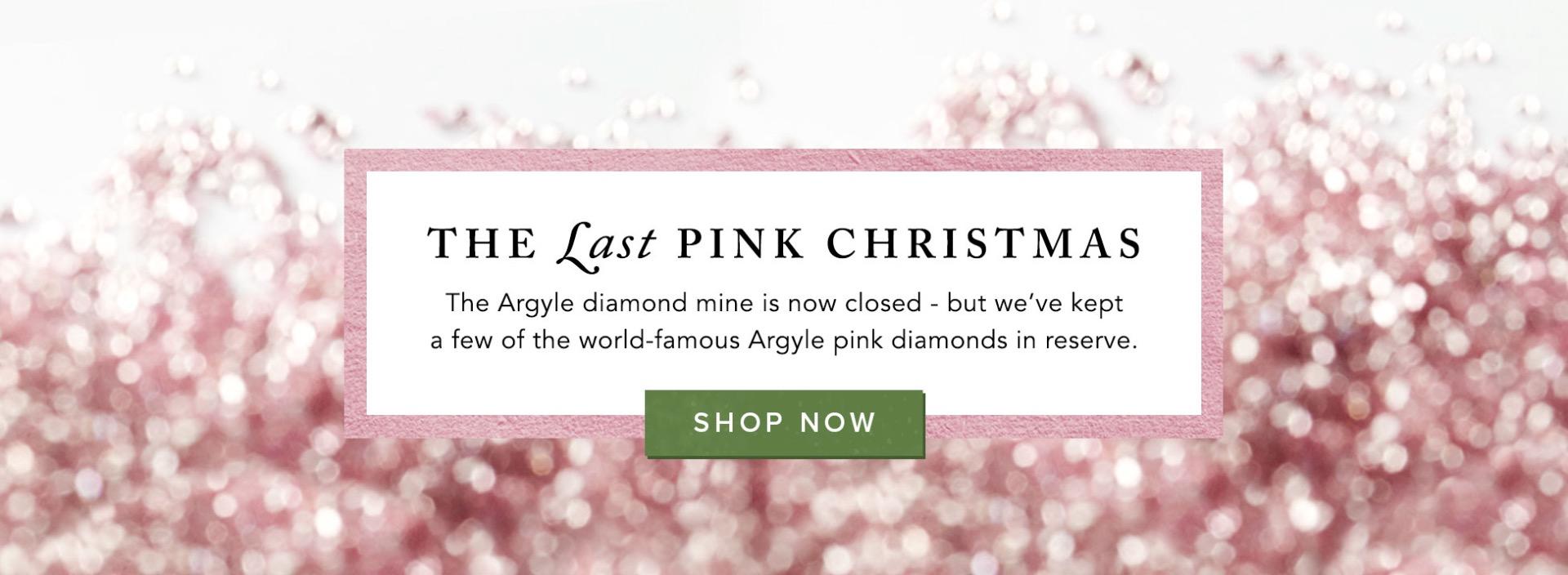 Argyle pink diamonds | The last pink Christmas