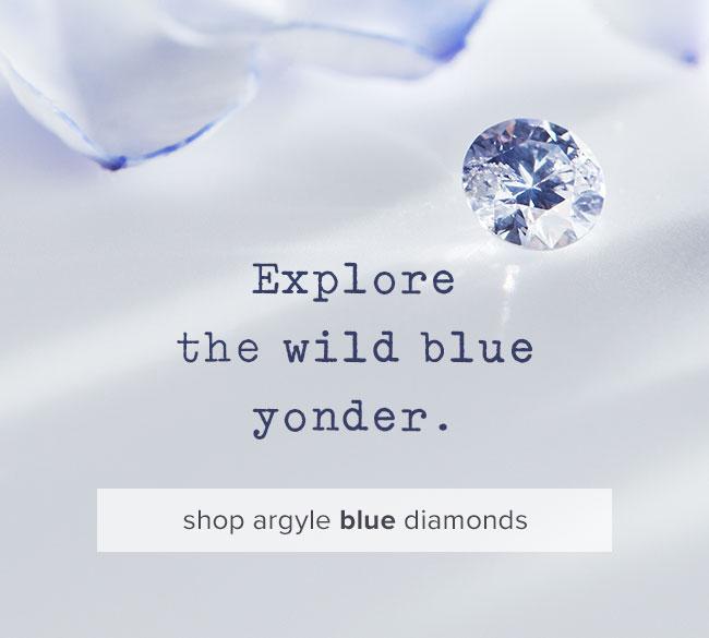 Argyle blue diamonds | Nina's Jewellery