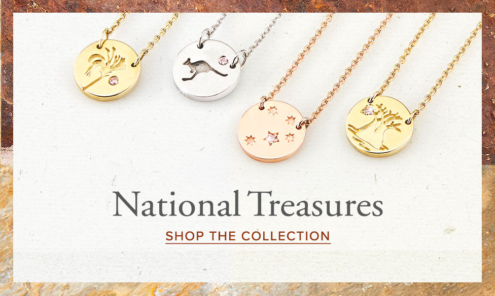 Australian icons: National Treasures necklaces | Nina's Jewellery