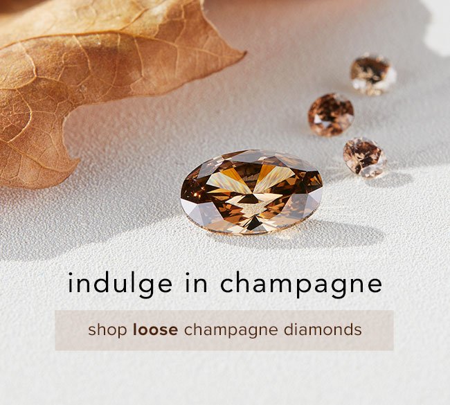 Shop loose champagne diamonds   Nina's Jewellery