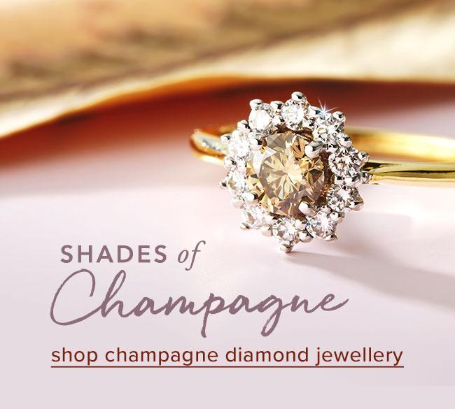 Champagne Diamond Jewellery