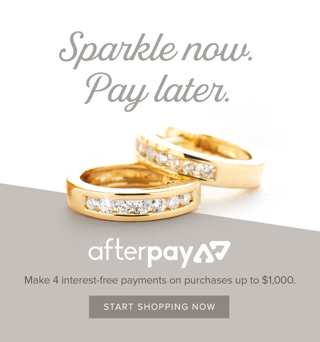 Afterpay - now available at Nina's Jewellery