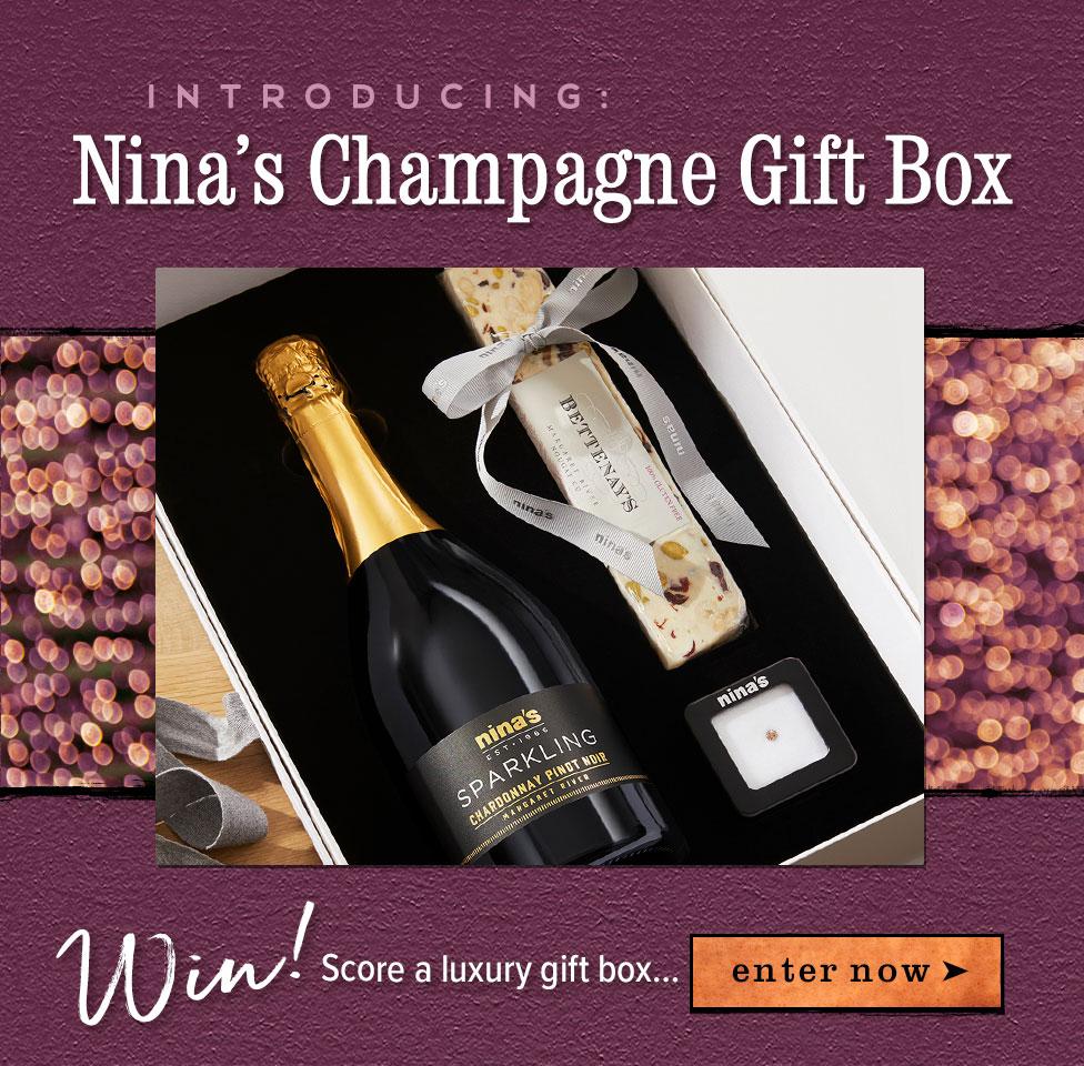 The Nina's Champagne Gift Box - WIN!