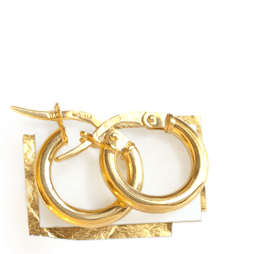 Free gold earrings with every purchase over $1000