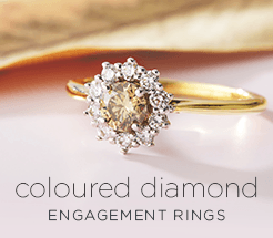 Coloured diamond engagement rings | Engagement rings online