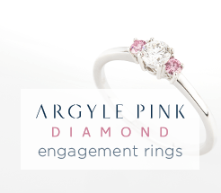Argyle Pink diamond engagement rings